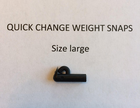 Quick Change Weight System Snaps