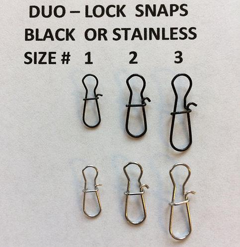 Duo-Lock Snaps