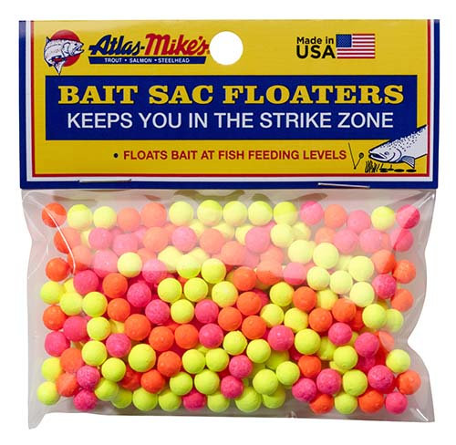 Atlas-Mike's Bait Sac Floaters   ASSORTED
