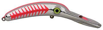 Mag Lip - MSRH - Metallic Silver Red Herringbone - NFL