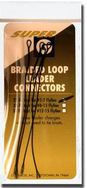 Gudebrod - Braided Loop Leader Connectors
