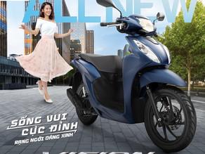 Honda Việt Nam giới thiệu Honda VISION hoàn toàn mới - Sống vui cực đỉnh