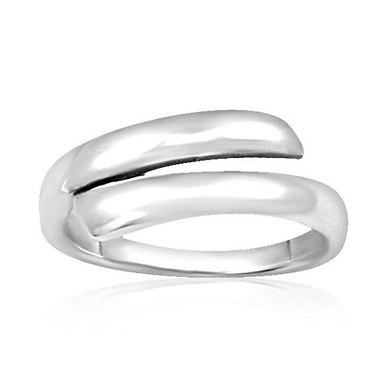925 Sterling Silver Wrapped Wedding Band Ring
