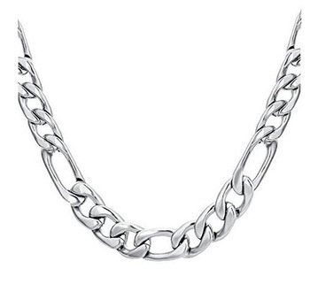 3+1 Figaro Stainless Steel Chain