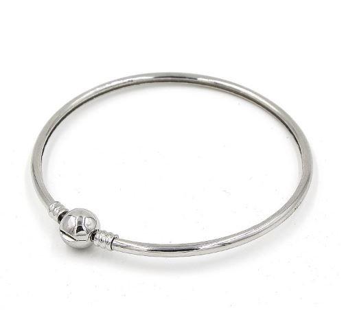 Silver Pandora Style Bangle