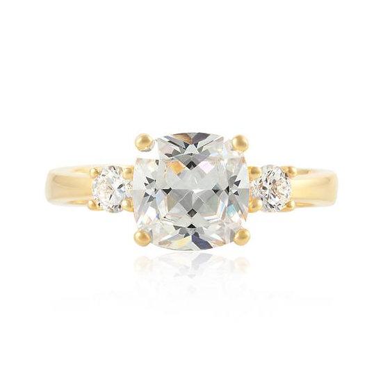 Meghan Duchess Yellow Gold Engagement Wedding Ring