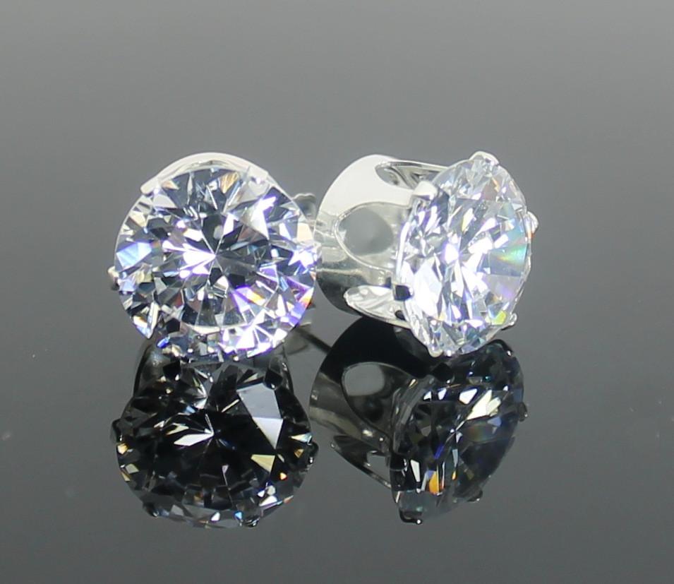 Simulated Diamond Earring