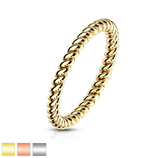 Twisted Band Ring