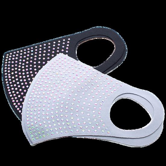 Aurora Borealis Crystal Decorative Face Mask