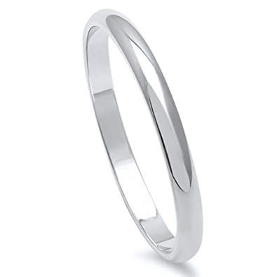 Stainless Steel Womens Mens Ring
