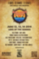Red Dirt LakeFest 2014 Lineup