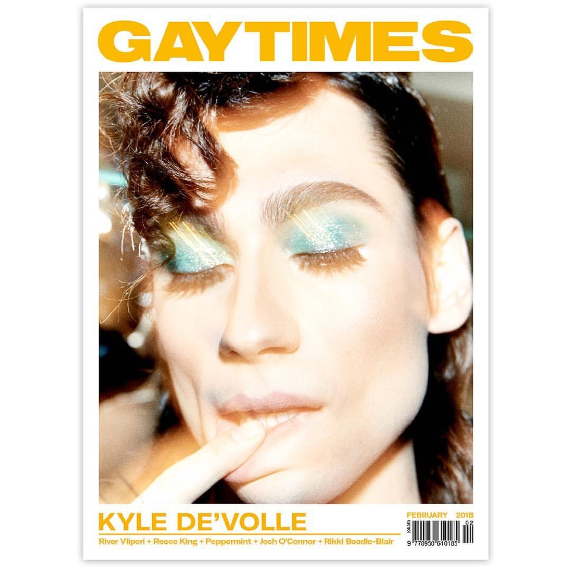 Kyle Devolle GAY TIMES Cover