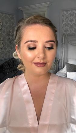 Bridesmaid Bronze Glam