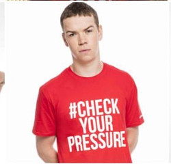 Check Your Pressure Campaign with Will P