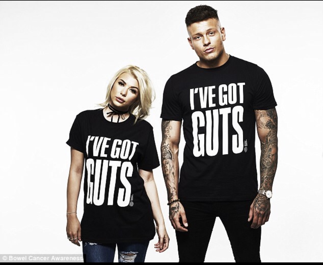 I've Got Guts Campaign with Olivia and A