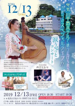 2019.12.13 奄美大島 涙うろっとクリスマスコンサート