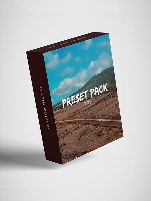 JR Preset Pack