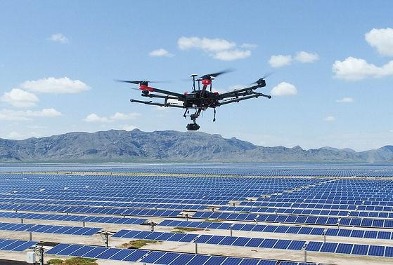 Solar Farm Inspection Drone