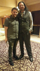 Trino with Penn Jillette