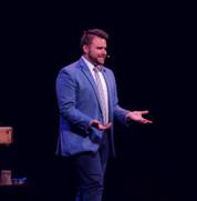 Trino performing magic in Michigan