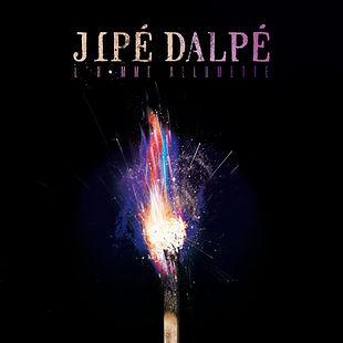 Pochette EP Jipé Dalpé L'homme allumette