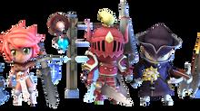Weapons of Super Dungeon Tactics