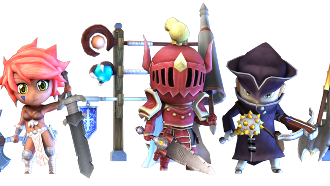Weapons of Super Dungeon Tactics