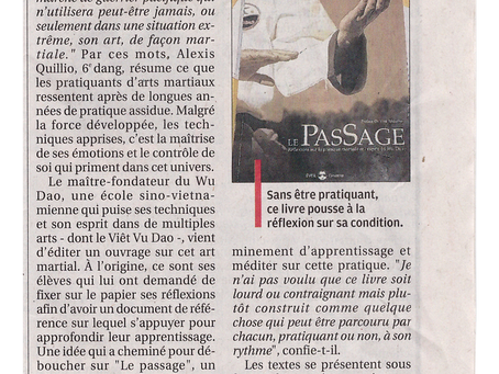 Article journal la Provence