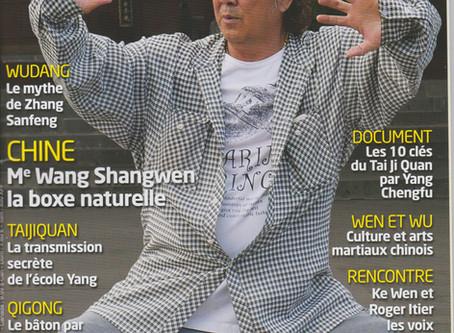 Interview Tai Chi Mag