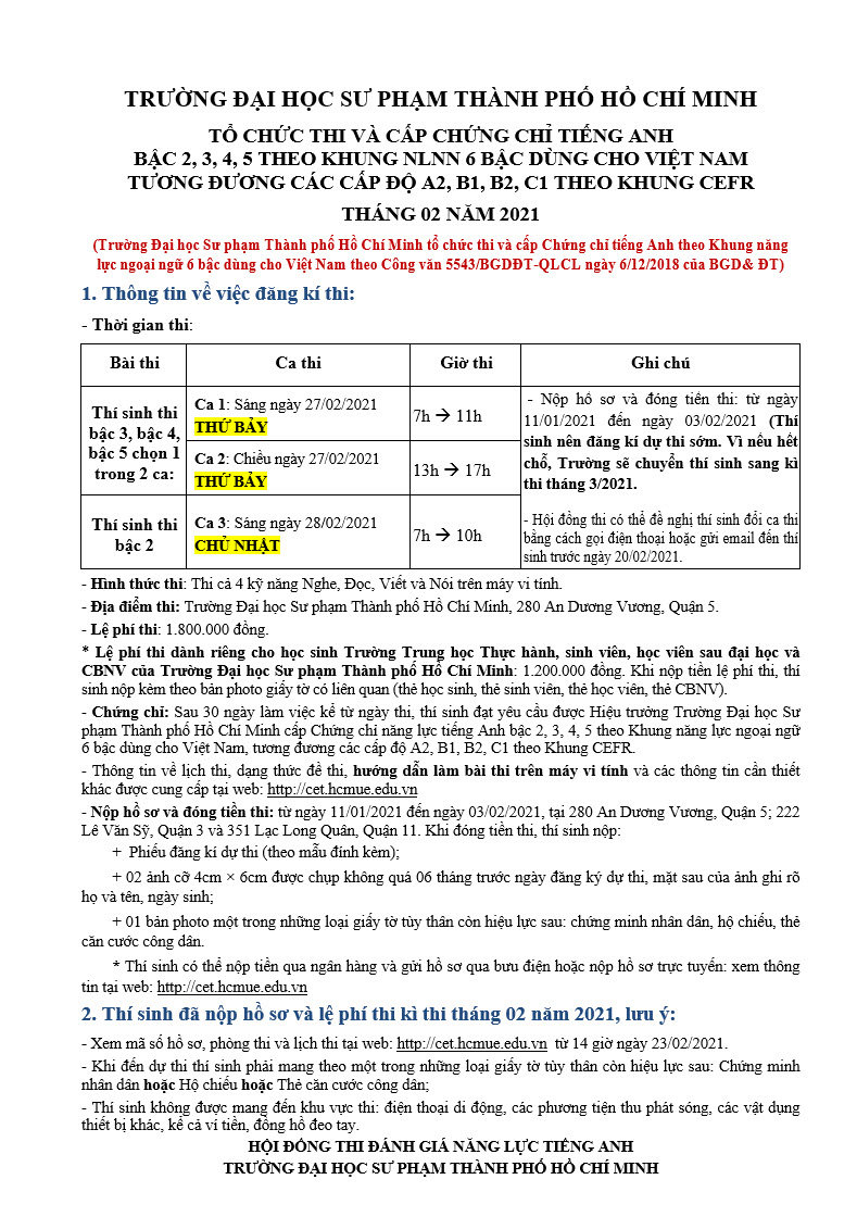 Thong bao thi A2, B1, B2, C1 thang 02-20