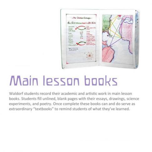 main lesson books