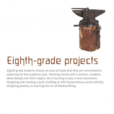 8th grade projects