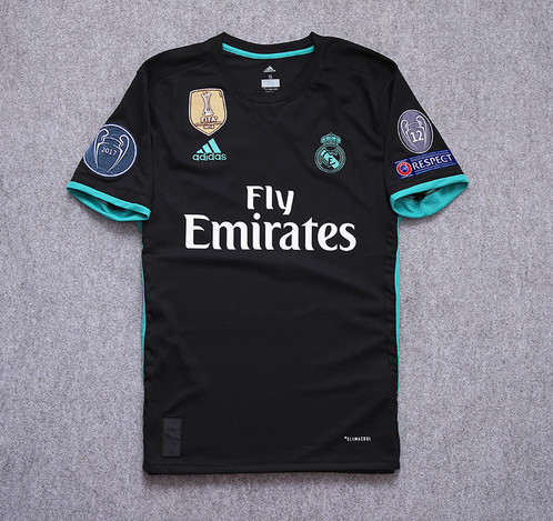 5c7f8352cd7dc You are bidding on  Real Madrid Champions League 2017-2018 Away shirt