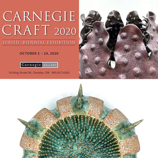 Selected to exhibit in 'Carnegie Craft 2020'