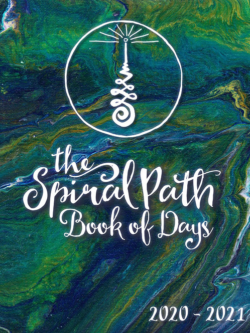 The Spiral Path Book of Days 2020-2021 - SPIRAL BOUND