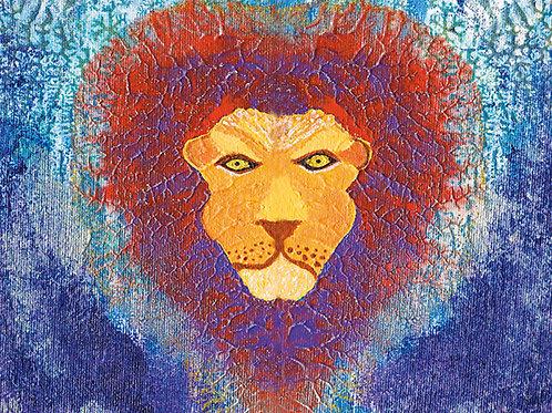 Spirit Lion - 8x10 Fine Art Giclee Print