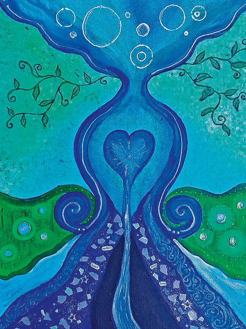 Endless Heart - 8x10 Fine Art Giclee Print