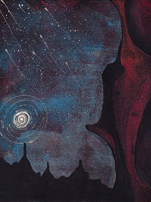 Red Rock Woman - 8x10 Fine Art Giclee Print