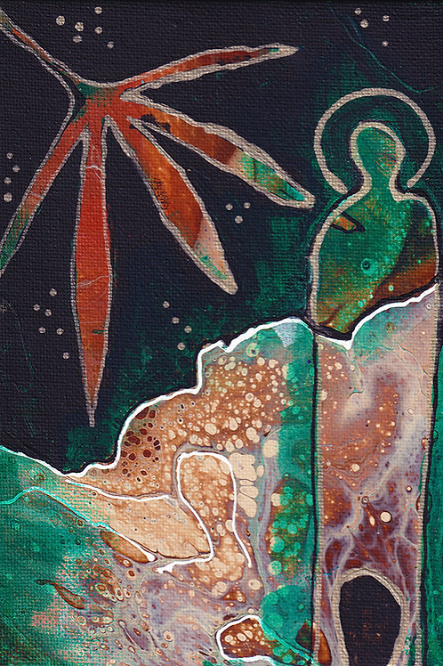 Earthworker - 8x10 Fine Art Giclee Print