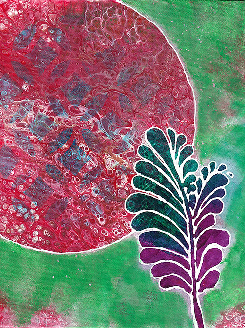 Plume - 8x10 Fine Art Giclee Print
