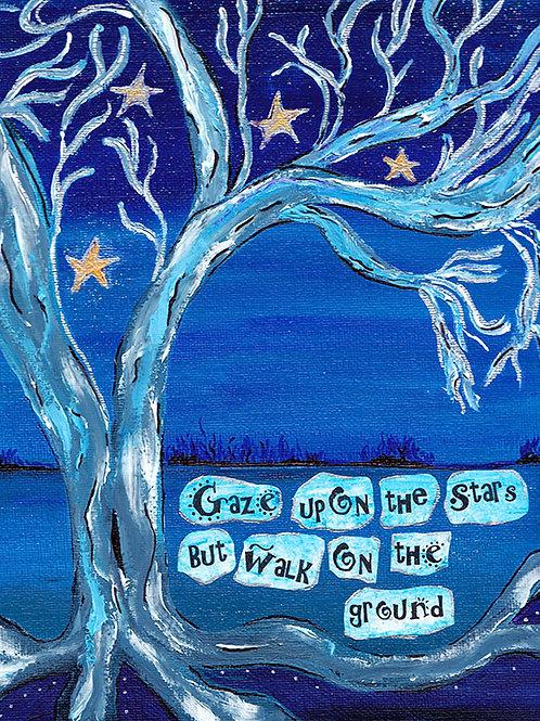 Gaze Upon the Stars - 8x10 Fine Art Giclee Print