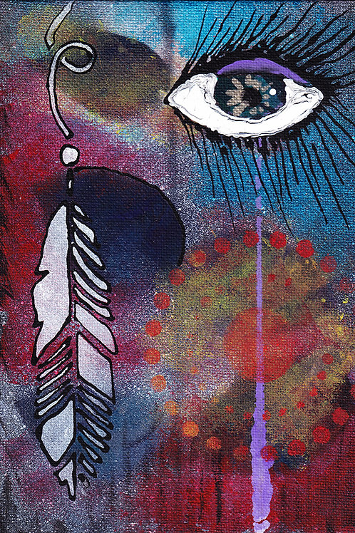 Watcher - 8x10 Fine Art Giclee Print