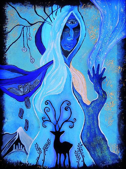 Cailleach: Hag of Winter - 8x10 Fine Art Giclee Print