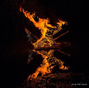 Feuerskulptur