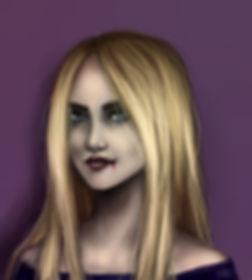 Dark fantasy fiction, The Nightmare's Truth characters, Lucia, female vampire