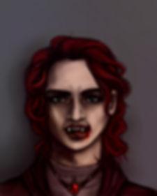 Dark fantasy fiction, The Nightmare's Truth characters, Marcus, vampire, menace