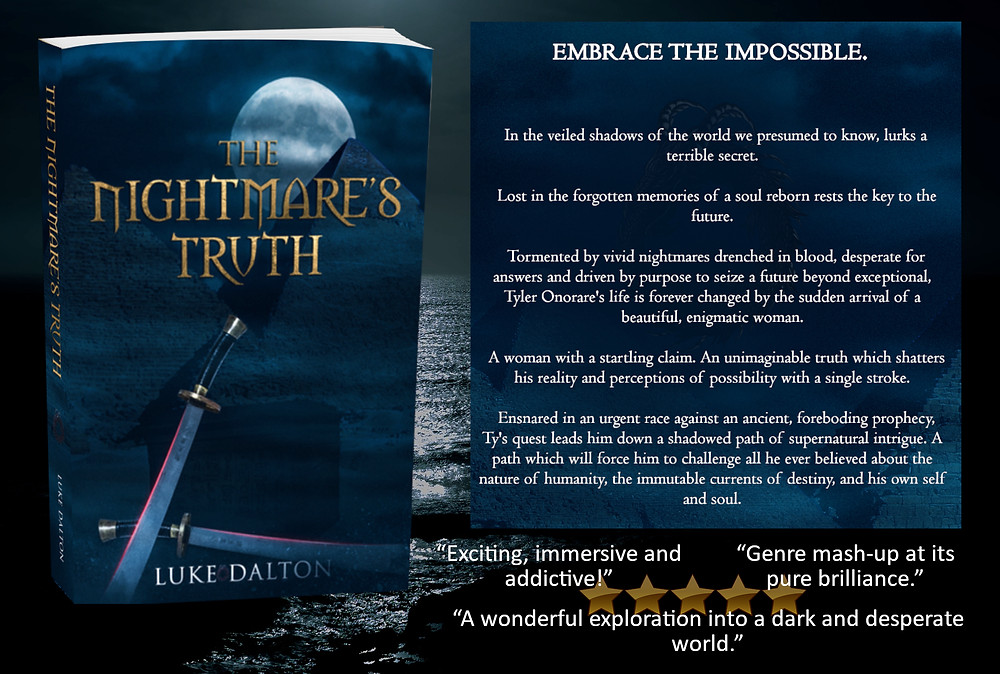 The Nightmare's Truth book and blurb with reviews