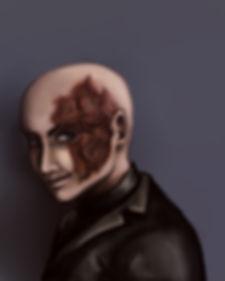 Dark fantasy fiction, The Nightmare's Truth characters, Dante, vampire, menace, supernatural