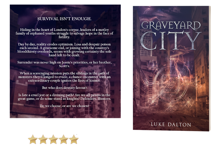 Graveyard City with blurb