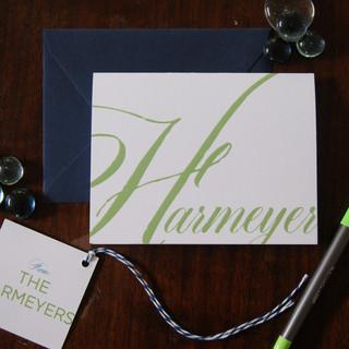 Harmeyer Family Stationery